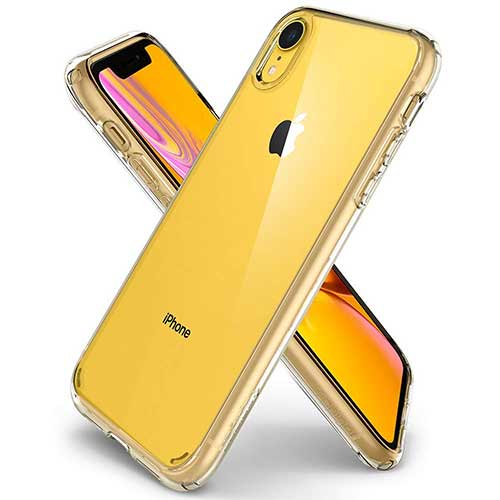 Best iPhone XR Cases 1. Spigen Ultra Hybrid Designed for Apple iPhone XR Case (2018)