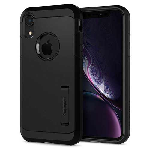 Best iPhone XR Cases 2. Spigen Tough Armor Designed for Apple iPhone XR Case (2018)