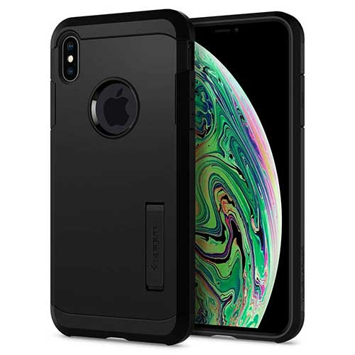 Best Iphone Xs Max Case 4. Spigen Tough Armor Designed for Apple iPhone Xs MAX Case (2018)