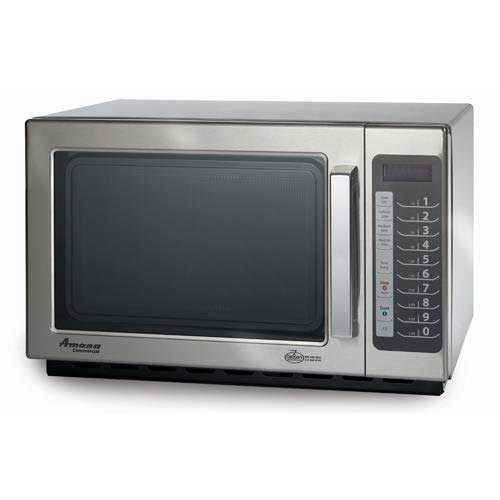 Best Commercial Microwaves for Home Use 8. Amana RCS10TS Medium-Duty Microwave Oven, 1000W