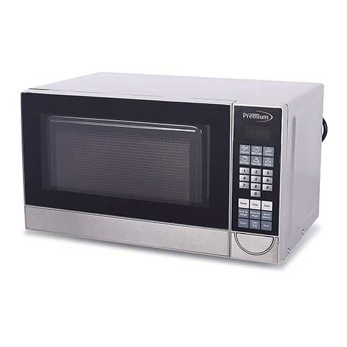 Best Commercial Microwaves for Home Use 6. Premium PM70710 0.7 Cu. Ft. Counter Top Microwave Oven, Stainless Steel