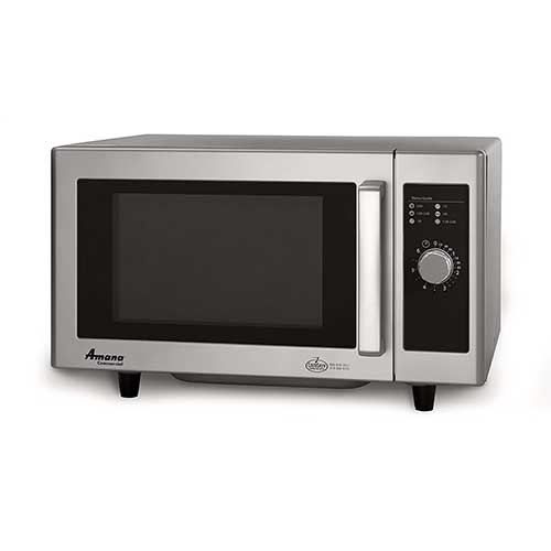 Best Commercial Microwaves for Home Use 2. Amana RMS10DS Light-Duty Commercial Microwave Oven