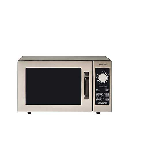 Best Commercial Microwaves for Home Use 1. Panasonic NE-1025F Silver 1000W Commercial Microwave Oven
