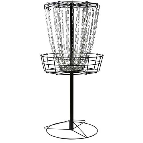 Best Disc Golf Practice Baskets 10. MVP Black Hole Practice 24-Chain Portable Disc Golf Basket Target