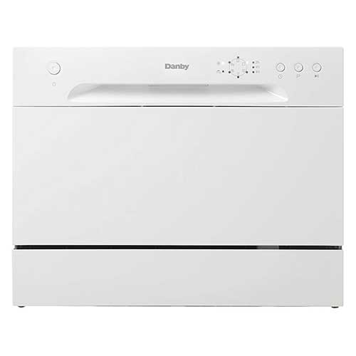Best Countertop Dishwashers 10. (New Model) Danby DDW621WDB Countertop Dishwasher, White