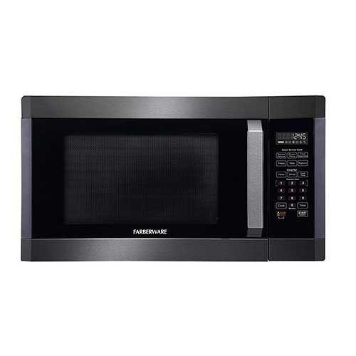 Best Commercial Microwaves for Home Use 10. Farberware Black FMO16AHTBSA 1.6 Cubic Foot 1300-Watt Microwave Oven