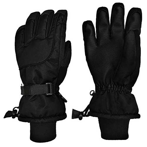 N Ice Caps Kids Extreme Cold Weather 100 Gram Thinsulate Waterproof Ski  Gloves. Best Winter Gloves for Toddlers Boy ... a4923eec4ecd