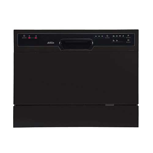 Best Countertop Dishwashers 9. Sunbeam DWSB3607BB Portable Countertop Dishwasher
