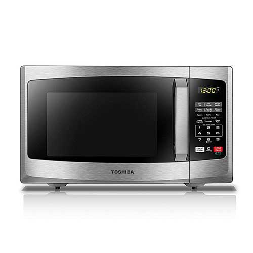 Best Commercial Microwaves for Home Use 3. Toshiba EM925A5A-SS Microwave Oven with Sound On/Off ECO Mode