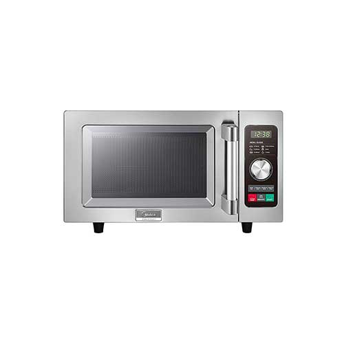 Best Commercial Microwaves for Home Use 9. Midea 1025F2A Light Duty Commercial Microwave 1000W with Dial & Touch Controls