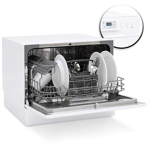 Best Countertop Dishwashers 8. Best Choice Products Small Spaces Kitchen Countertop Portable Dishwasher