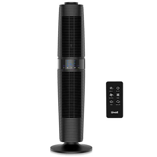 Quietest Tower Fans 10. Dyson Cool AM07 Air Multiplier Tower Fan, fds, Black/Nickel