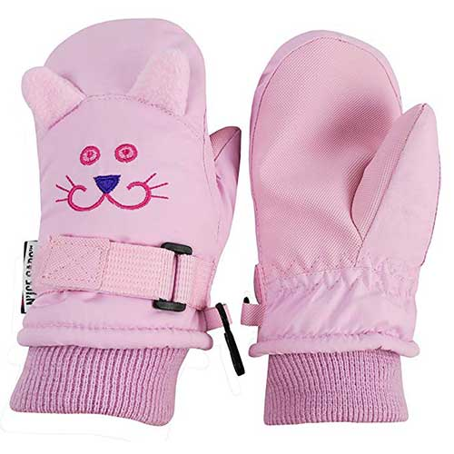 Top 10 Best Winter Gloves for Toddlers Girl in 2019 Reviews