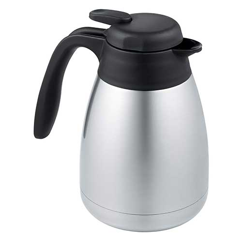1. Thermos 34-Ounce Vacuum Insulated Stainless Steel Carafe