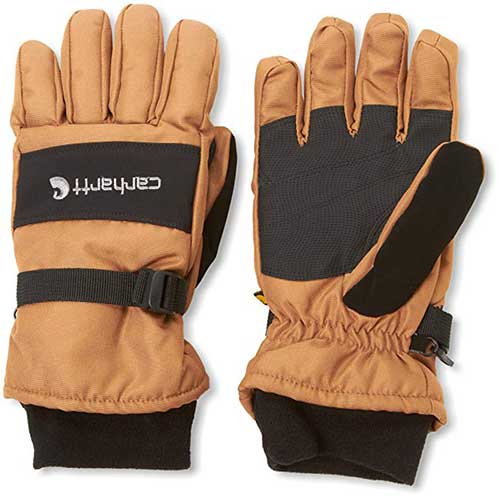 Best Work Gloves for Winter 1. Carhartt Men's W.P. Waterproof Insulated Glove