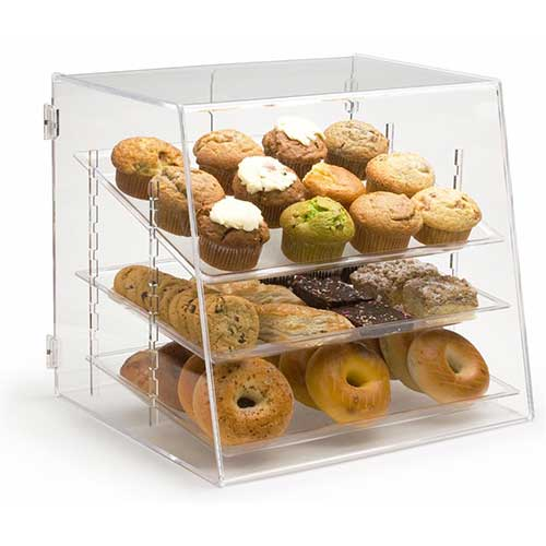 3. Pastry Display Case
