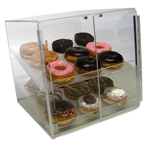 2. Self Serve Pastry or Donut Display Case