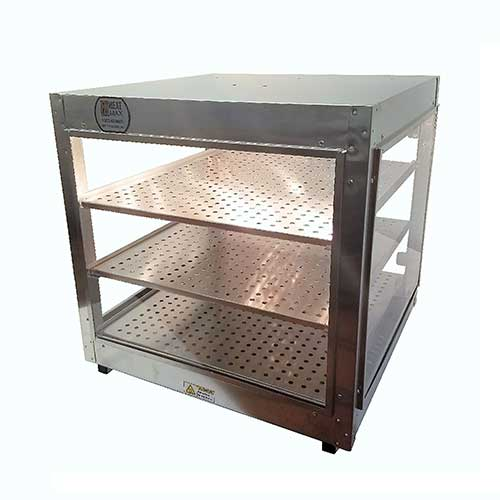9. Heatmax Commercial Countertop Food Warmer Display Case
