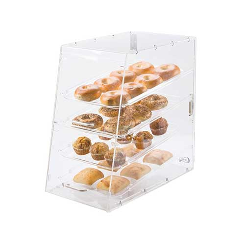 5. Premier Choice 4 Tray Bakery Display Case