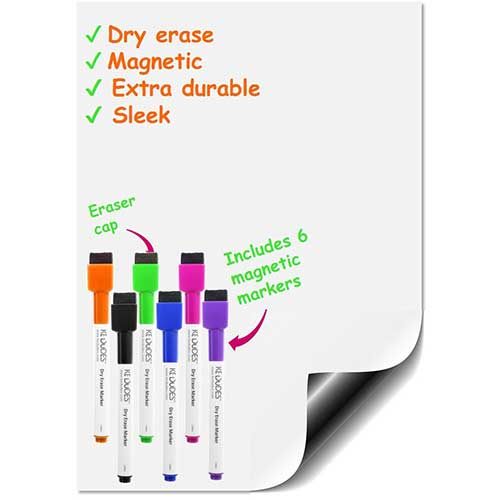 1. Holiday Gift - Premium Magnetic Dry Erase Whiteboard Sheet 17