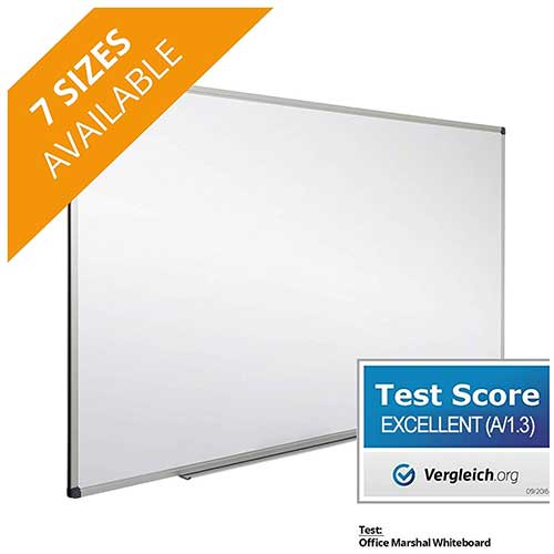 9. Office Marshal Professional Magnetic Dry Erase Board
