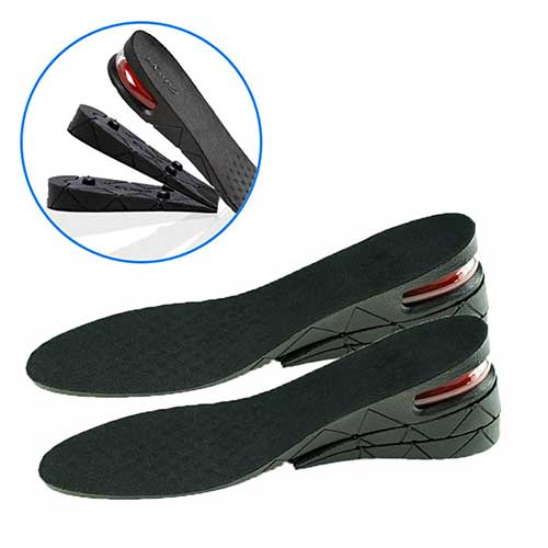 Best Height Increasing Insoles for Men 10. Echodo 7CM 3-Layer Shoe Lift Inserts Air up Height Increase Elevator Shoes Insole for Men and Women