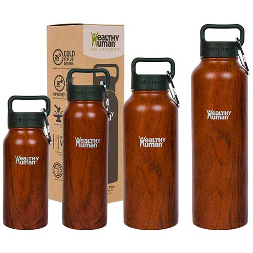 10. Healthy Human Stainless Steel Vacuum Insulated Water Bottle