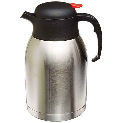 4. Genuine Joe Double Wall Stainless Vacuum Insulated Carafe