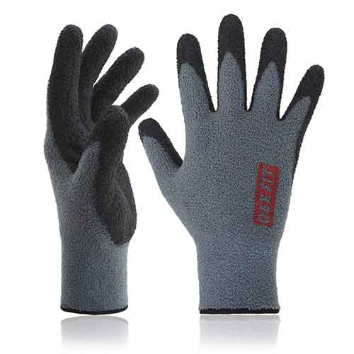 Best Work Gloves for Winter 3. DEX FIT Warm Fleece Work Gloves NR450
