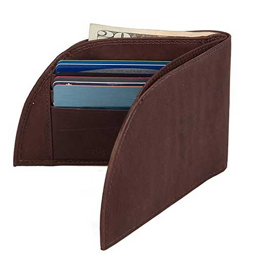 2. Front Pocket Wallet by Rogue Industries - Classic Wallet in Genuine Top Grain Leather
