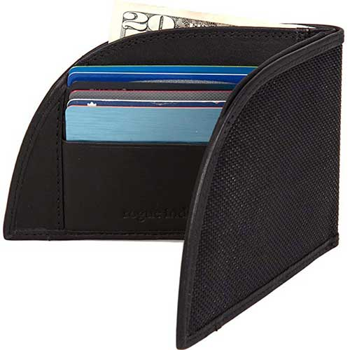 9. Front Pocket Wallet by Rogue Industries - Ballistic Nylon Material with RFID Block