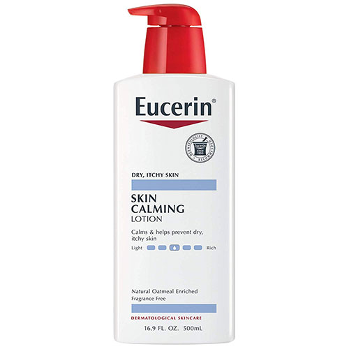 3. Eucerin Skin Calming Body Lotion 16.9 Fluid Ounce