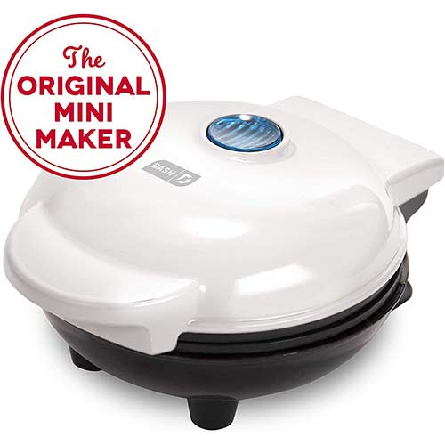 9. Dash Mini Maker: The Mini Waffle Maker Machine