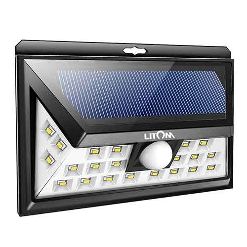 6. LITOM 24 LED Solar Lights