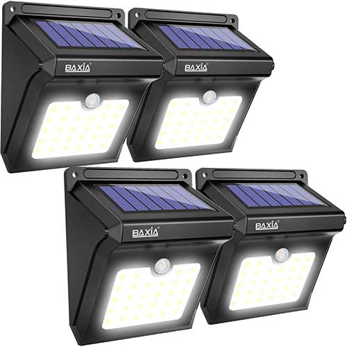 1. BAXIA TECHNOLOGY Solar Lights