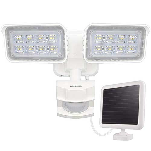 5. LEPOWER 1500LM Solar Lights