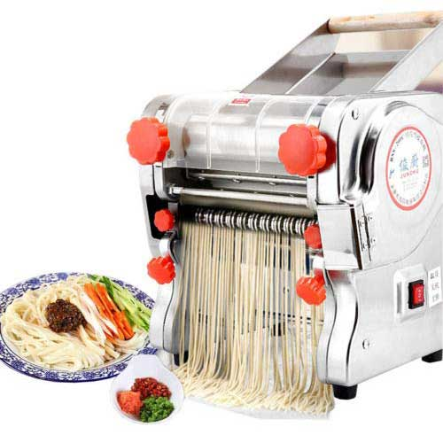 Best Electric Pasta Makers 7. ele ELEOPTION110V Electric Pasta Maker Machine, Noodle Cutter Machine, Pasta Roller and Cutter Set