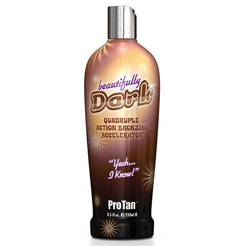 5. ProTan Pro Tan Beautifully Dark Bronzer Indoor Tanning Salon Bronzing Tan Lotion 8.5 fl oz 250mL e 8.5 Oz