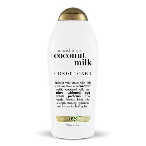 Best Hair Conditioners for Men 5. OGX Nourishing Conditioner, Coconut Milk, Salon Size, (1) 25.4 Ounce Bottle