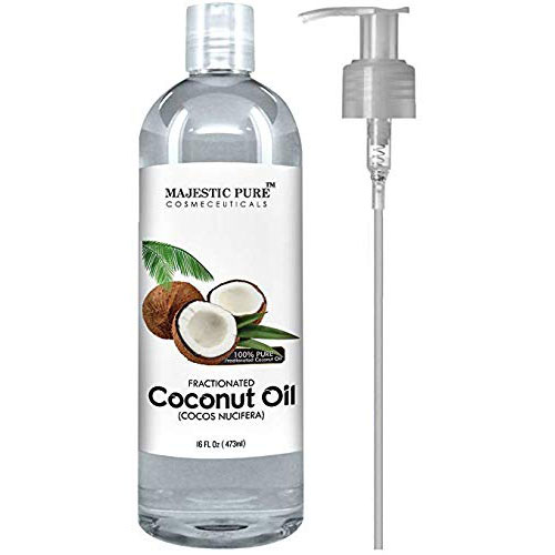 Best Coconut Oil Brands for Hair Growth 2. Majestic Pure Fractionated Coconut Oil