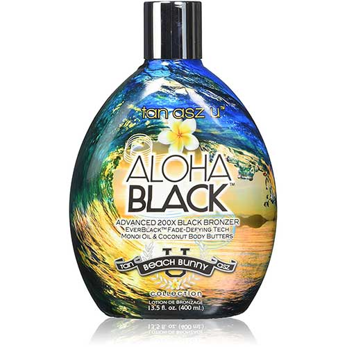 6. Tan Asz U ALOHA BLACK Advanced 200X Black Bronzer - 13.5 oz.