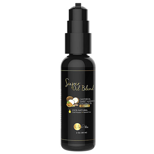Best Coconut Oil Brands for Hair Growth 9. PURE Castor Oil with Sweet Almond Oil, Coconut Oil and Vitamin E Oil -by Mia Adora