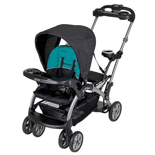 5. Baby Trend Sit n Stand Ultra Stroller, Lagoon