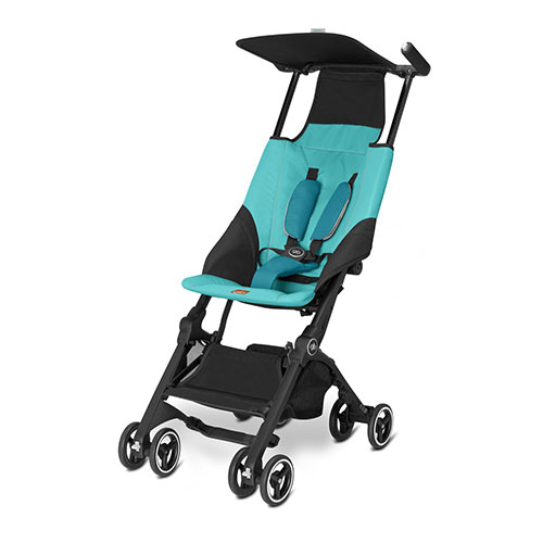 10. gb Pockit Stroller, Capri Blue