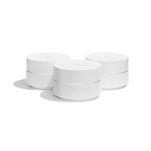 Best Business Class Wireless Access Points 3. Google WiFi system, 3-Pack - Router replacement for whole home coverage