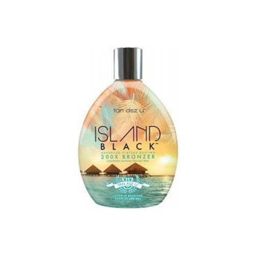 3. Island Black 200X Bronzer Tanning Lotion by Tan ASZ U