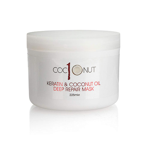 Best Coconut Oil Brands for Hair Growth 10. Keratin and Coconut Oil Deep Repair Hair Mask: Intensive Conditioning Treatment for Dry/Damaged Hair – 7.6 fl