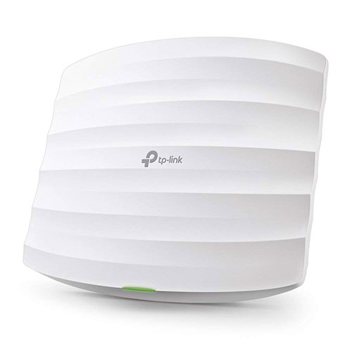 Best Business Class Wireless Access Points 1. TP-Link EAP225 V3 Wireless MU-MIMO Gigabit Ceiling Mount Access Point, Supports 802.3af PoE and Passive PoE