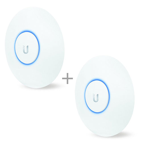 Best Business Class Wireless Access Points 7. Ubiquiti UniFi AC Lite AP - Wireless Access Point - 802.11 B/A/G/n/AC (UAPACLITEUS) 2-Pack Bundle