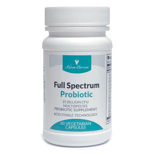 10. Karen Berrios Full Spectrum Probiotic - Blend of 12 Safe Lactic Acid Bacteria - High CFU - Acid Stable